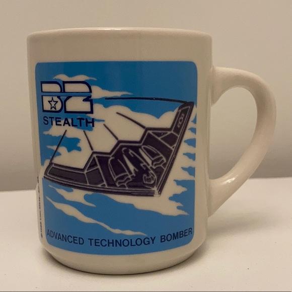 VTG Stealth Bomber Coffee Mug Color Changing Mug